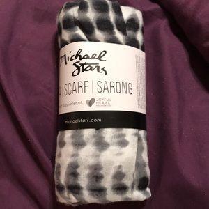 Michael Stars scarf/sarong combo